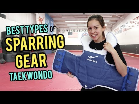 WHAT TYPE OF SPARRING GEAR DO I USE? | Samery Moras Taekwondo