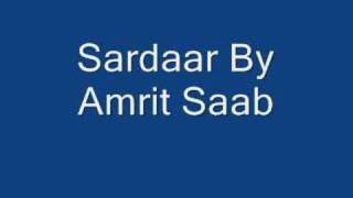 Sardaar By Amrit Saab
