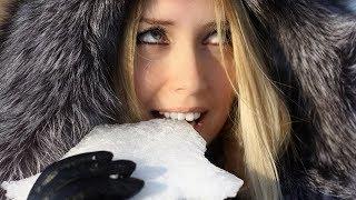 Можно ли, и что будет если кушать снег. Польза и вред снега для горла. Учёные разрешили? Ага