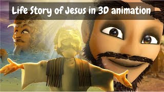 The Life story of Jesus Christ ( Following Jesus all Episodes) | 3D Animation