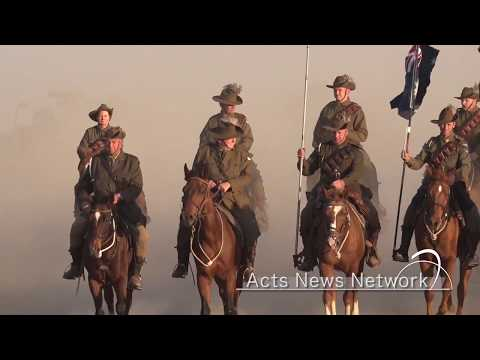 Israel: ANZAC Light Horse Charge Of Beer Sheva Historic