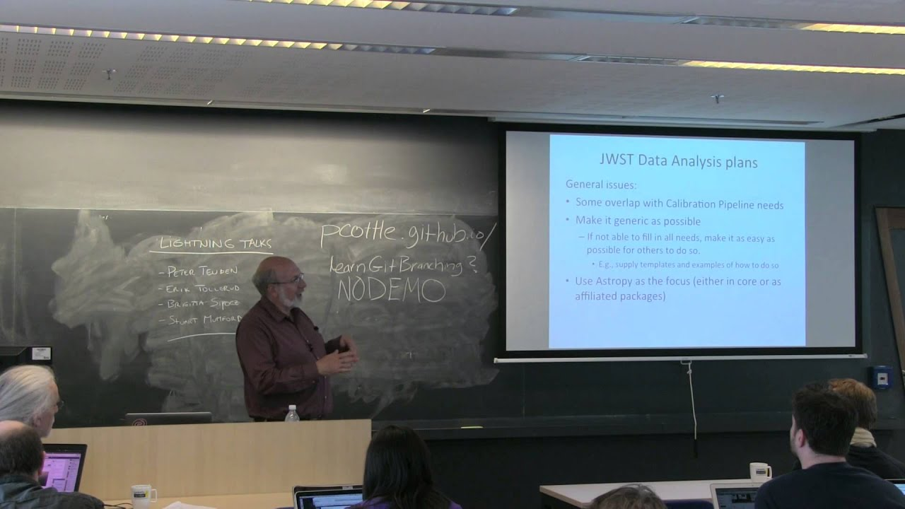 Image from Perry Greenfield - The Development and Future of Python at STScI