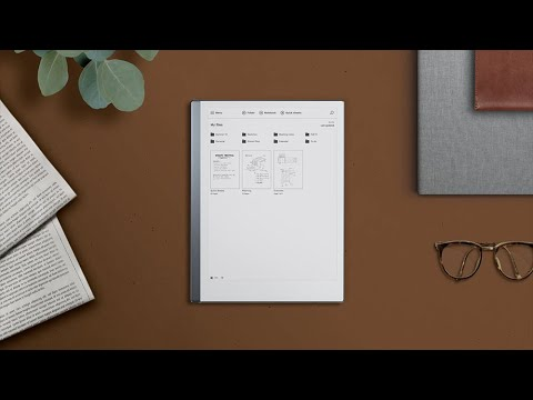 How to organize your files with reMarkable