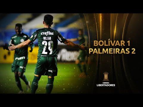 Bolívar vs. Palmeiras [1-2] | RESUMEN | Fase de Grupos | Jornada 3 | CONMEBOL Libertadores 2020