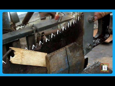 как ПРОСТО И правильно наточить ножовку  напильником