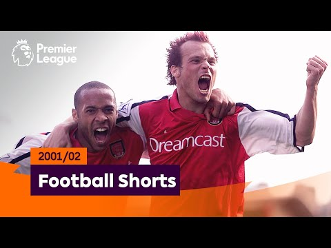 Brilliant Goals   Premier League 2001/02   Henry, Schmeichel, Gudjohnsen