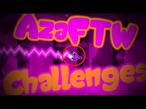 BUTTERFLY CLICK ~ Geometry Dash AZAFTW Challenges ~ G502 Unboxing