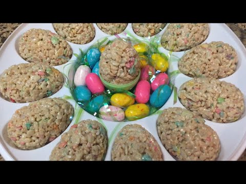 Trotter Chronicles 26 (Cooking with D-Trott) Easter Rice Krispy Treat Recipe