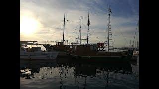 Рибалка в Хорватії з берега, 2018г. Fishing in Croatia from the shore.