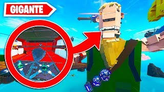 DEATHRUN *WITHIN* il CORPO DI A GIGANT SKIN DEFAULT your FORTNITE!!