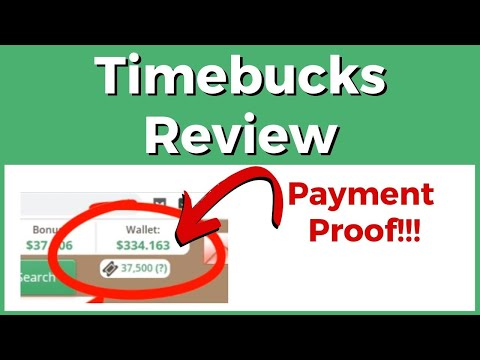 Timebucks Review – Is It Legit? (Payment Proof & Full Guide)