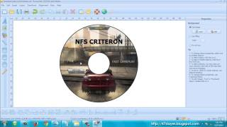 Creating CD Label with CD DVD LABEL MAKER 3.01.26