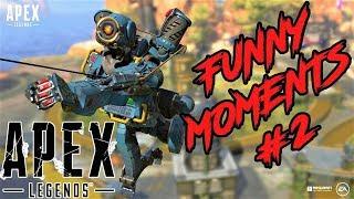 Apex Legends Funny Fails Epic Moments #2
