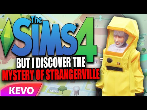Sims 4 but I discover the mystery of strangerville |