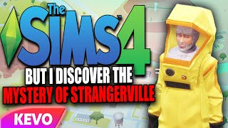 Sims 4 but I discover the mystery of strangerville