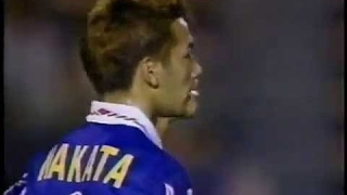 中田英寿 20歳 日本代表初ゴールは豪快ミドル