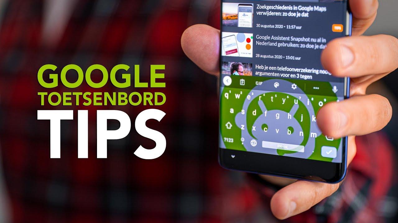 5 Gboard-tips om alles uit het toetsenbord te halen