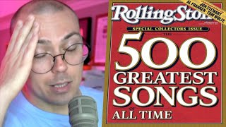 Rolling Stone\x27s Top 500 Songs List Is Rough