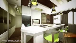 Дизайн-проект квартиры. 3D анимация.(http://www.elenayarosh.com/, 2013-08-22T07:51:45.000Z)