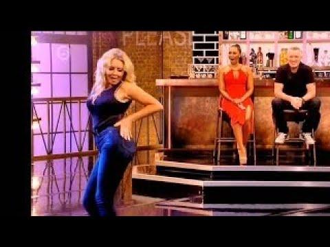 MILF Carol Vorderman Dancing,Twerking and Vibrating in Skinny Jeans. Extended 'ASS' Editio
