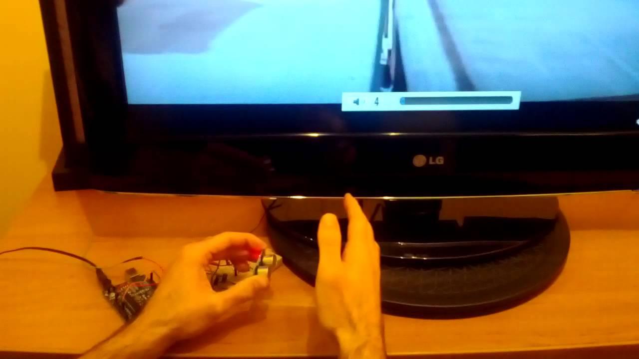 Diy Arduino Programming Cool Lg Tv Volume Control