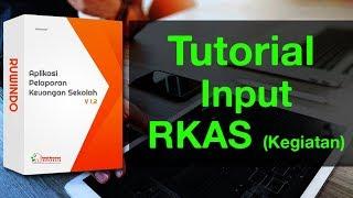Aplikasi BOS SD SMP (Tutorial Input RKAS-Kegiatan)