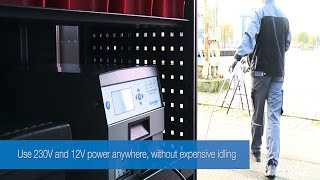 230V & 12V LPS. Compact All-In-One Inverter System for Vans based on Lithium Batteries (EN)