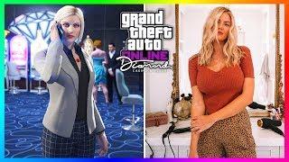 GTA 5 Online The Diamond Casino & Resort DLC Update Characters In Real Life!