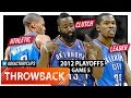 Kevin Durant Russell Westbrook James Harden WCF Game 5 Highlights Vs Spurs 2012 Playoffs EPIC mp3