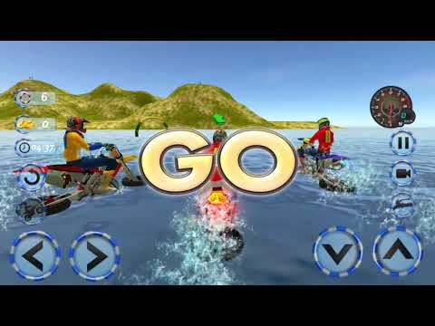 Real Water Surfer Bike Racing - Floating Drive
