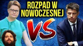 Rozpad Nowoczesnej - Ekipa Petru ODCHODZI Scheuring Wielgus Schmidt - Lubnauer Przykro - Komentator