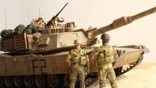 プラモガールのプロモビデオ「M1A2 ABRAMS Operation Iraqi Freedom」