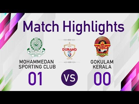 Durand Cup 2021 - Highlights (Quarter Final - 1) | Mohammedan SC 1-0 Gokulam Kerala FC | Addatimes