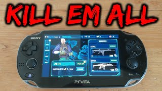 PS Vita Kill-Em-All Unity Homebrew Game!