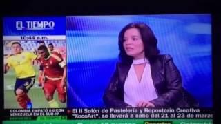 Gambar cover II Salón de Pastelería y Repostería Creativa Xocoart - Entrevista Luisa Gallego en El Tiempo Tv