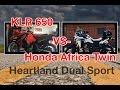 Honda Africa Twin CRF1000L VS Kawasaki KLR650