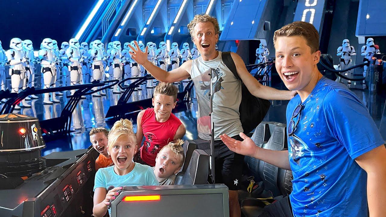 New Star Wars Ride at Disney World!