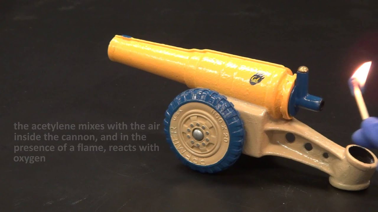 calcium carbide cannon (acetylene combustion) - YouTube for Calcium Carbide Cannon  110ylc