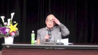 俳句と人生,平和を語る  金子兜太さんと平和のつどい 2016.4.17/深谷