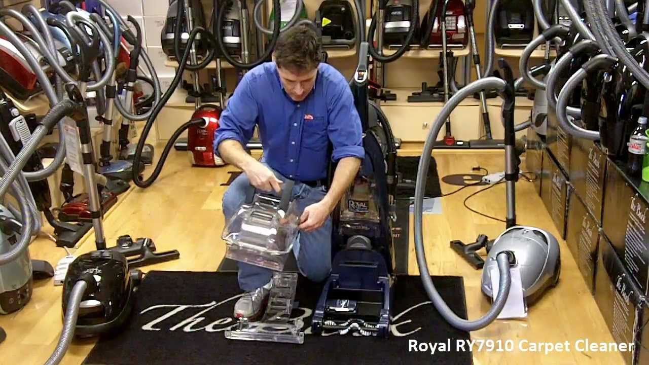 Royal Carpet Cleaner Ry7910 Tops Vacuum And Sewing
