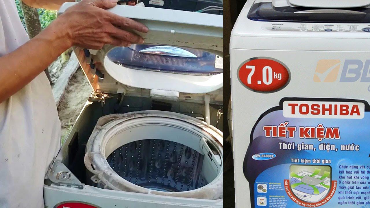 cách tháo lắp sửa chữa lắp đặt máy giặt, how to repair a washing machine assembly