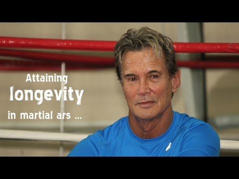 Conversation with Richard Norton about longevity in Martial Arts