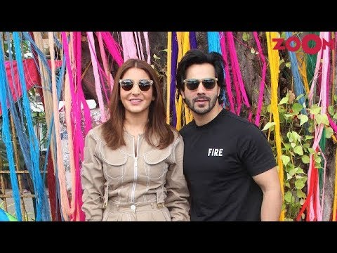 anushka-varun-promoted-'sui-dhaaga-made-in-india'-film-at-a-college-&-more- -bollywood-news