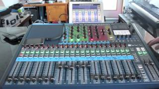 Soundcraft SI Expression 2 Mix Monitor and ipad setup Part 2