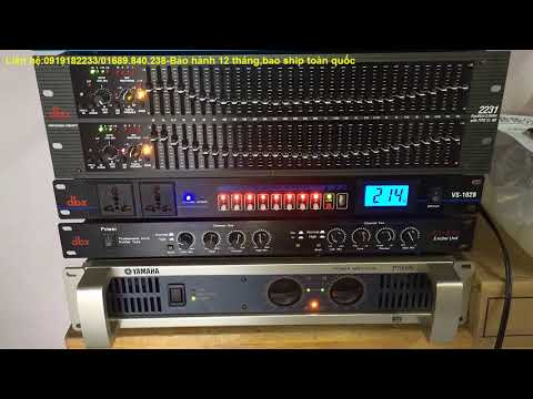 máy nâng tiếng hát dbx ex3000 1tr500 test cùng lọc xì equalizer dbx 2231 chính hãng.SDT:0919182233