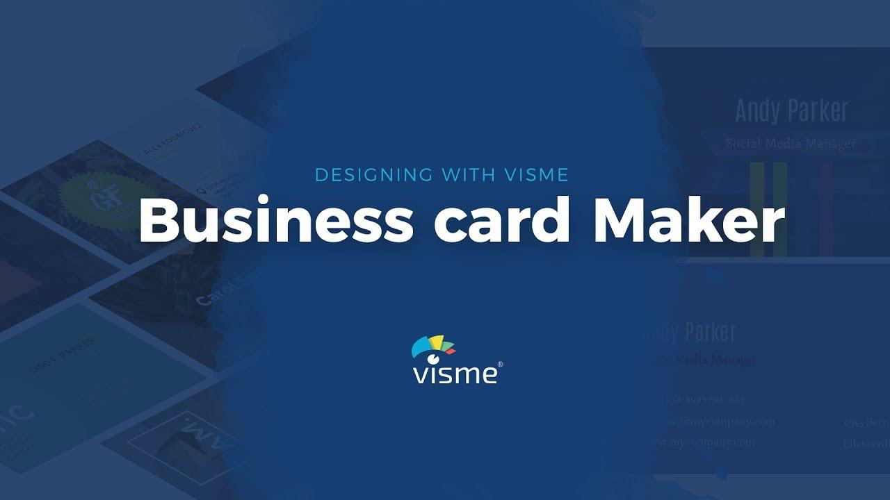 Kostenlos Visitenkarten Erstellen Visitenkarten Creator