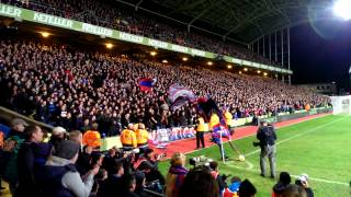 Crystal Palace - Sunderland Fanatics in azione 5