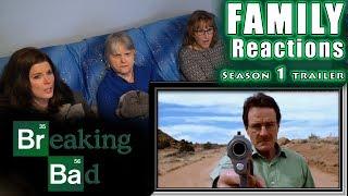 Breaking Bad Season 1 trailer | FAMILY Reactions