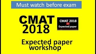 Expected CMAT paper. Strategy cutoffs attempts.