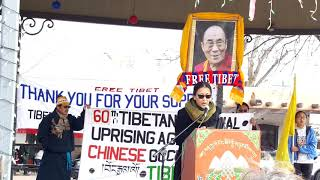 TIBET ASSOCIATION OF SANTA FE 2019 60th COMMEMORATION OF TIBETAN NATIONAL UPRISING Clip 3